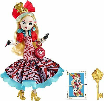 NEW Ever After High Way Too Wonderland Apple White Doll - FREE Shipping