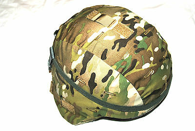 New Original Us Army Issue - Bae Systems Ach Mich Kevlar Combat Helmet - Large