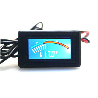 Celsius/Fahrenheit Digital Pointer Thermometer Car Water LCD Temperature Meter