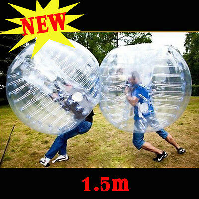 NEW 1.5M Body Inflatable Gum Bumper Football Zorb Ball Human Bubble Soccer Ball