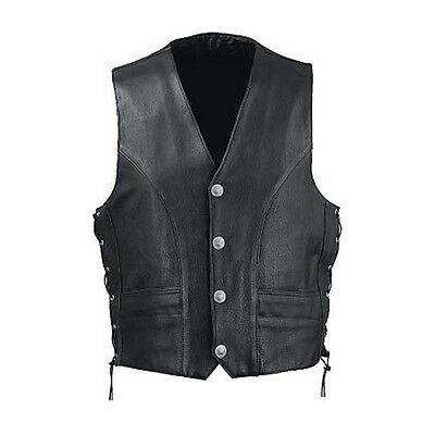 Bikers Leather vest-cow leather