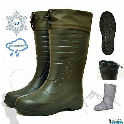 Thermostiefel -30°C Jagdstiefel Angelstiefel Anglerstiefel Thermo Boots Gummi