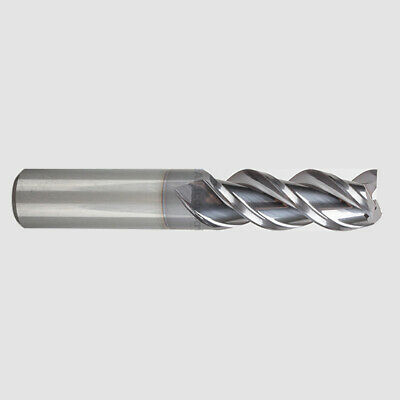 "1/2"" YG1 Alu-Power 3 Flute Regular Length Carbide End Mill TiCN Coated"
