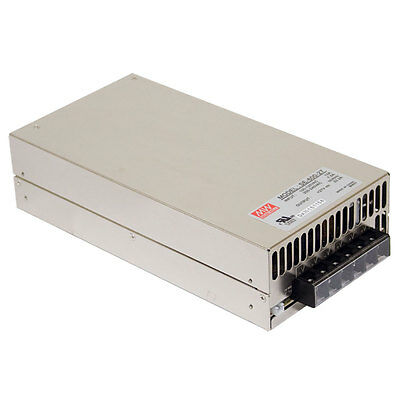 Mean Well SE-600-24 AC to DC Power Supply Single Output 24 Volt 25 Amp 600 Watt