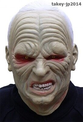 Star Wars Darth Sidious Rubber Mask Cosplay costume import Japan Free Shipping