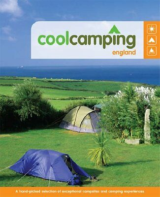 Cool Camping: England By Jonathan Knight,Paul Marsden,Andy Stothert
