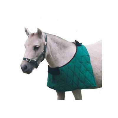 Mini Pony Quilted Anti-Rub Rug Bib Taffeta lined shoulders protector
