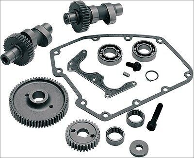 S&S Cycle 585G Grind Gear Drive Cam Gears Kit .585 Lift Harley Twin Cam 99-06