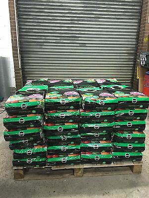 2x 18L Bags Of Miracle Gro Expand N Grow Plant Feeds Concentated Compost