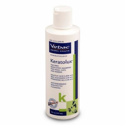 Keratolux Virbac Antiseborrheic tar-free shampoo for Dogs Cats and Horses