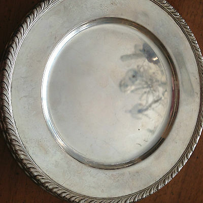 Sterling Silver Wallace Bread and Butter Plate - H108