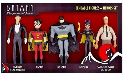 New Batman Adventures Heroes Box Set The Animated Series Boxed Bendable XL Toys