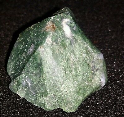 Good Luck Natural Raw Powerful Moss Agate From The Earth! Item F