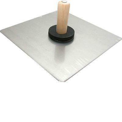 13 x 13-Inch Magnesium Hawk, Ideal for holding Plaster, Mud or Mortar, Drywall