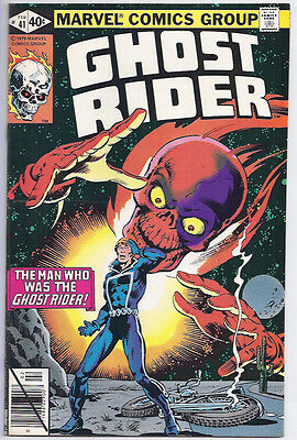 Ghost Rider # 41 (1980) Os = $10! Sharp Vf/nm 9.0! A$K Only $4.88 = Cheap! L@@k!