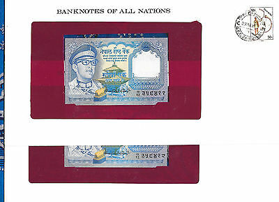 Banknotes of All Nations Nepal 1979 1 Rupee P22b UNC sign 10 2 Consecutive