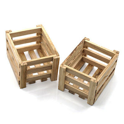 Yeah 2 x Wooden crates - body accessories for 1:10 RC may fit Axial Losi YA-0400