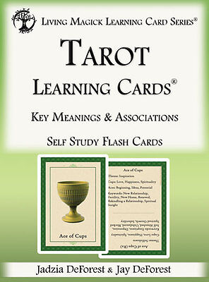 Tarot Flash Cards - 2nd Edition - Living Magick Learning Card Series