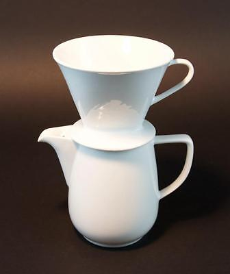 Vintage Melitta Tea Coffee Pot With Cover And 1X4 Strainer Made In Germany