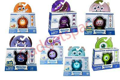 Disney Pixar Monsters University - Roll A Scare Monsters - Sulley Mike Art - NEW