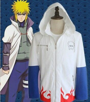 Cosplay cos for NARUTO Minato Hoodie jacket mens womens Namikaze Long sleeve top