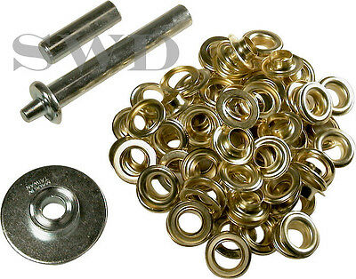 33pc Tarpaulin Repair set Ground sheet Tarp Eyelets Grommets stall cover ring