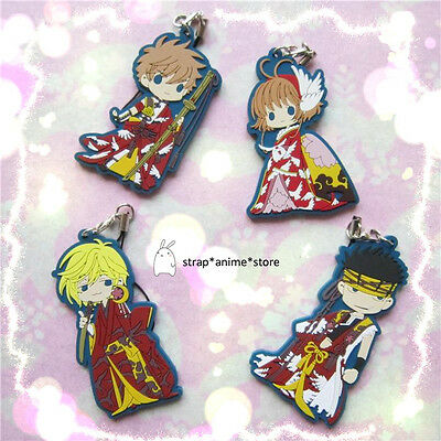 Tsubasa Reservoir Chronicle Anime Rubber Keychain Strap Charm Special Offer