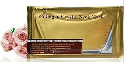 24K GOLD collagène cou Masque Anti-âge Anti-rides Masque cou Neck Mask