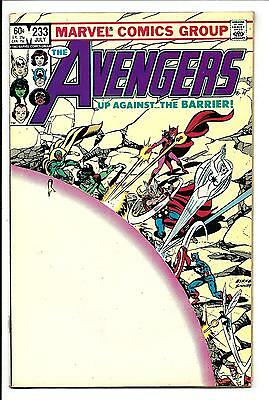 Avengers # 233 (John Byrne Art, July 1983), Nm