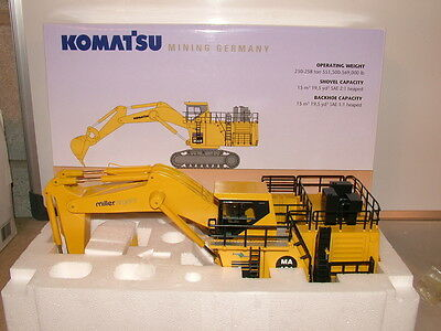 NZG No 613/03 Komatsu PC 3000 backhoe in livery of Miller Argent NEW