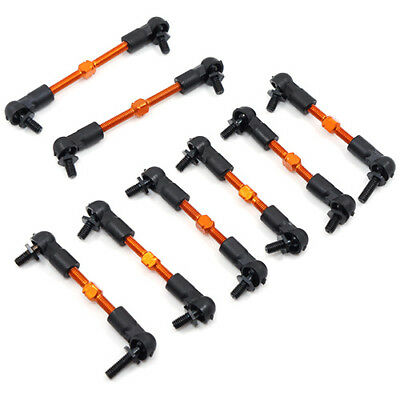 Yeah Aluminum Preassembled Tie Rod Set - for HPI Sprint 2 1:10 RC SPT2-115OR