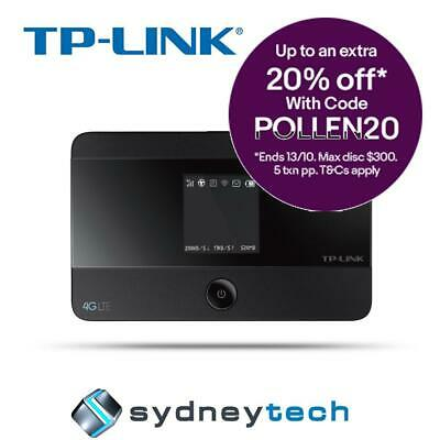 New TP-Link M7350 4G LTE Advanced Mobile WiFi