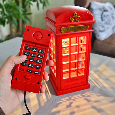 home telephone booth corded telephone wired phone booth led table home telephone booth corded telephone wired phone booth led table lamp 1224hc