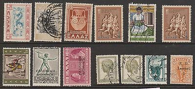 (OF-4) 1861-1976 Greece mix of 36 stamps (A)