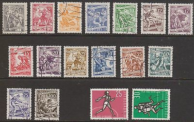 (OF-34) 1940-70 Yugoslavia mix of 32 stamps (B)