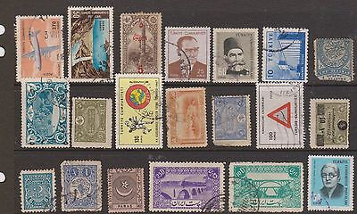 (OF-24) 1924-60 Turkey mix of 45 stamps (D)