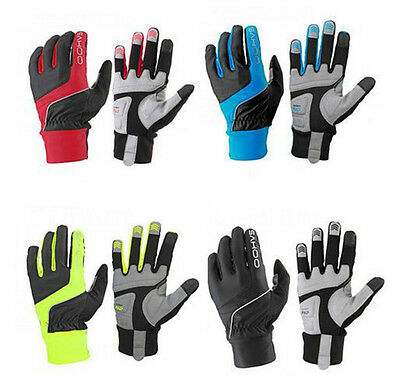 Mens Winter Touch Screen Cycling Full Finger Gloves thermal Bike Windproof Glove