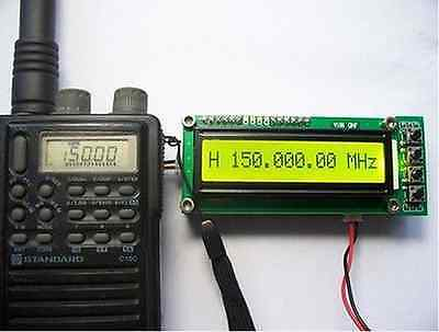0.1~1100 MHz 0.1~ 1.1 GHz Frequency Counter Tester Measurement For Ham Radio