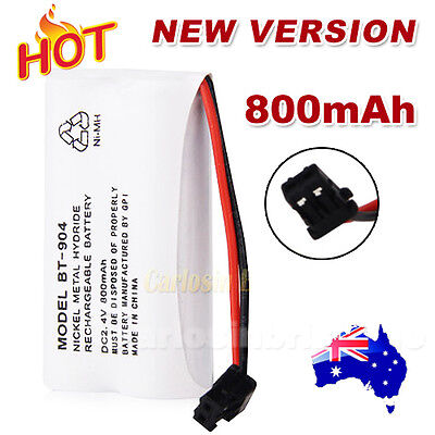 800MAH 2.4V Cordless Phone For Uniden Battery BT-904 BT-904S BT802 Ni-MH