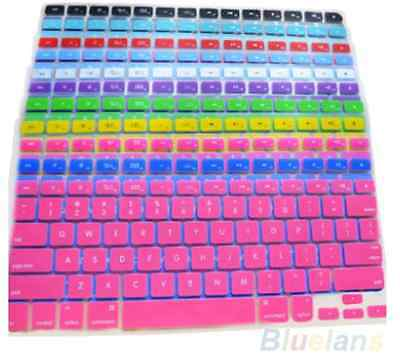 Clavier en silicone pour apple macbook pro, Mac13,15,17, air, qwerty, protecteur