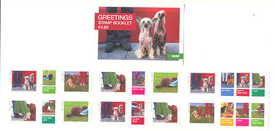 Ireland-Dogs-Greetings booklet complete mnh -2006