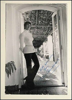 Julie ANDREWS (Song): Large Signed Photograph