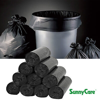 """33 Gallon 1.5 Mil 33"""" x 39"""" Low Density Can Liner - 100 / Case"""