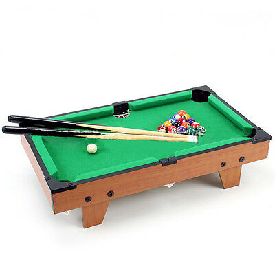 Creative kids toys small-sized woodiness snooker children's Table-Game