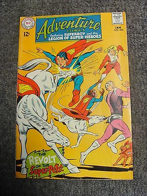 "Adventure Comics #364 (1968) ""The Revolt of the Super-Pets!"" * DC Comics *"