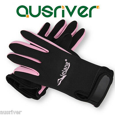 1.5mm Neoprene Diving Scuba Spearfishing Snorkeling Wetsuit Gloves S – L