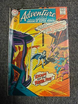 "Adventure Comics #365 (1968) ""Escape of the Fatal Five!"" * DC Comics *"