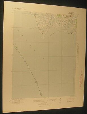 Port Norris New Jeresey Maurice River 1941 vintage USGS original Topo chart map