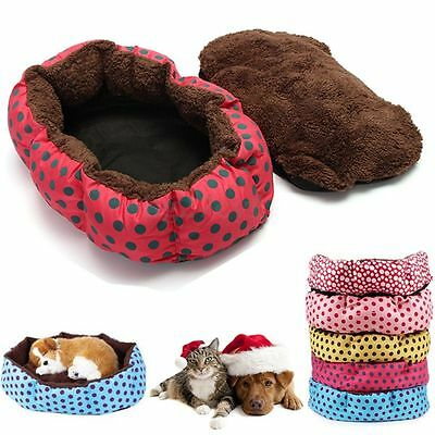 Pet Dog Puppy Cat Soft Winter Warm Cozy Bed House Nest Mat Pad Cushion Blanket