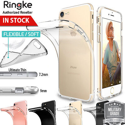 iPhone 8 7 Plus Case 6s SE For Apple Genuine RINGKE Air Ultra Slim Rubber Cover